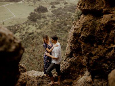 Hannah + Lucas Cave of Munits Engagement