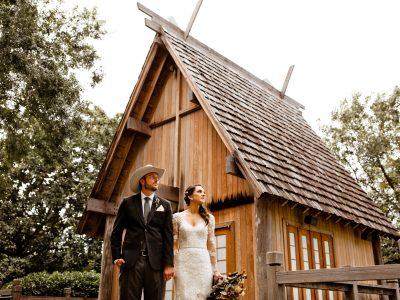 Jean + Jordan Magical Garden Wedding
