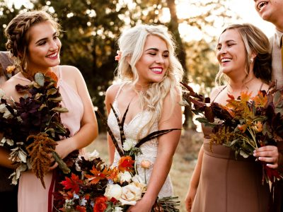 Savanah + Clay Fall Woodsy Wedding