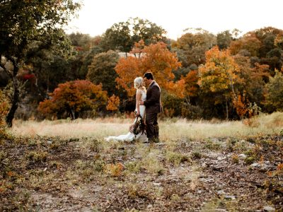 Savanah + Clay Fall Woodsy Wedding