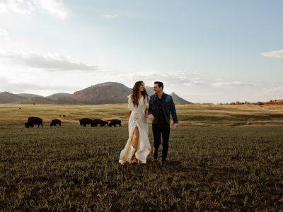 Nara + Travis Wichita Adventure Engagement